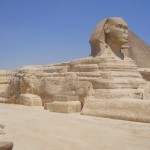 The Sphinx standing guard