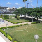 Grounds near the student union