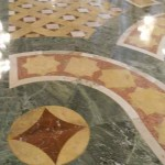 Ornate marble floor