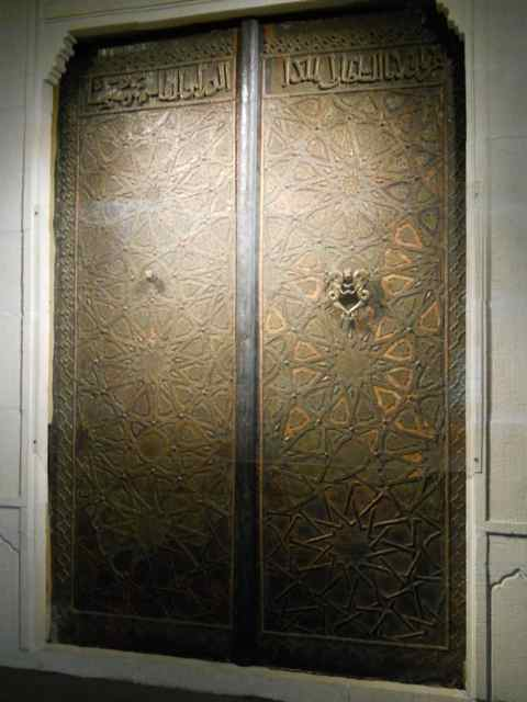 Ornamental metal doors