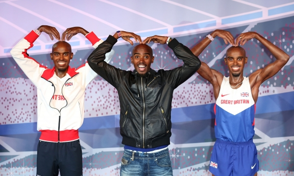 Image from Mo Farah's Official website at http://www.mofarah.com/#images