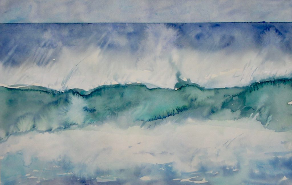 Azores to Abiquiu- new works- Shelburne, VT and  Rockport, Mass 2018
