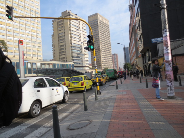 Getting Used to Getting Around in Bogotá