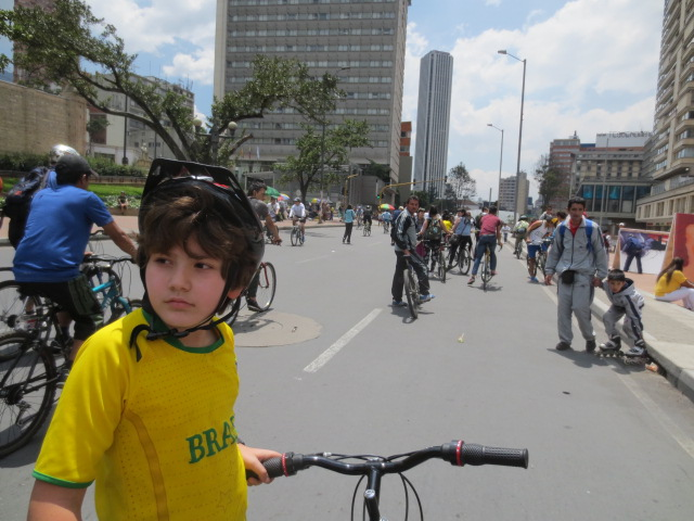 Buying a Bicycle in Bogotá