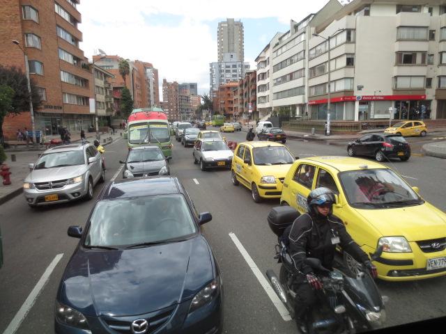 Riding the Séptima, A Video Time-Lapse