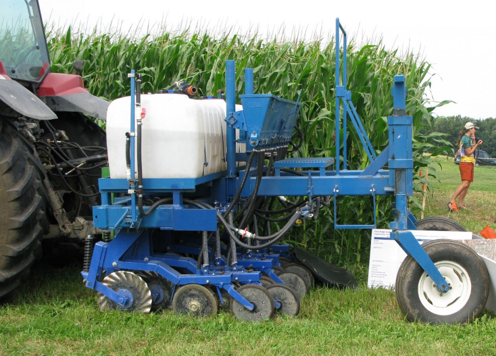 Using the Penn State Interseeder to Plant Cover Crops