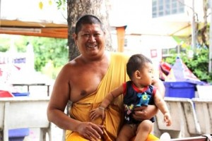 a monk and his nephew