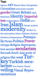 Tagged topics of Islam & Modernity student blog posts