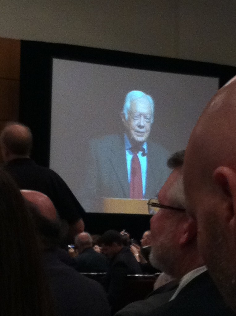 Primary Sources: Reading President Carter's talk at the AAR