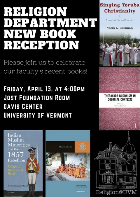 Upcoming Religion@UVM Events on Campus!