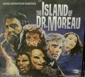 "Cover for film version of ""Dr. Moreau"""