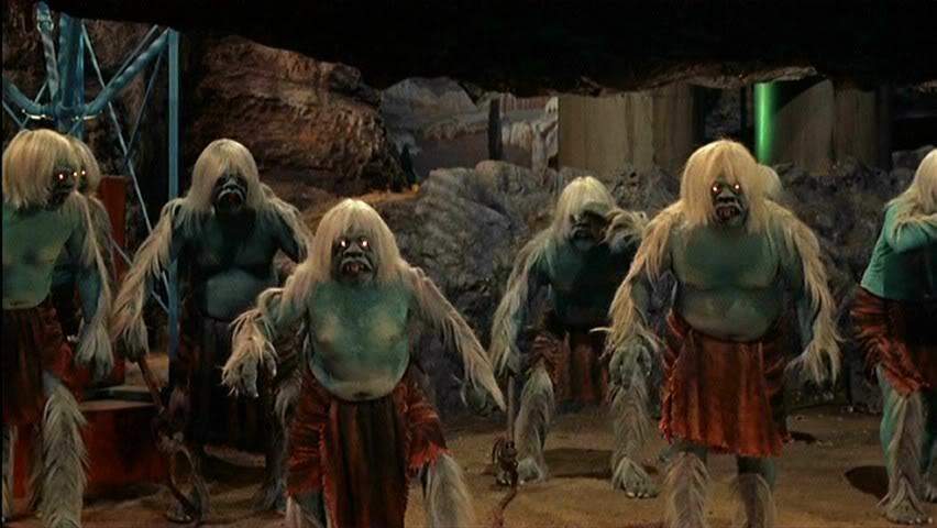 Spooky Morlocks from the 1960 film.