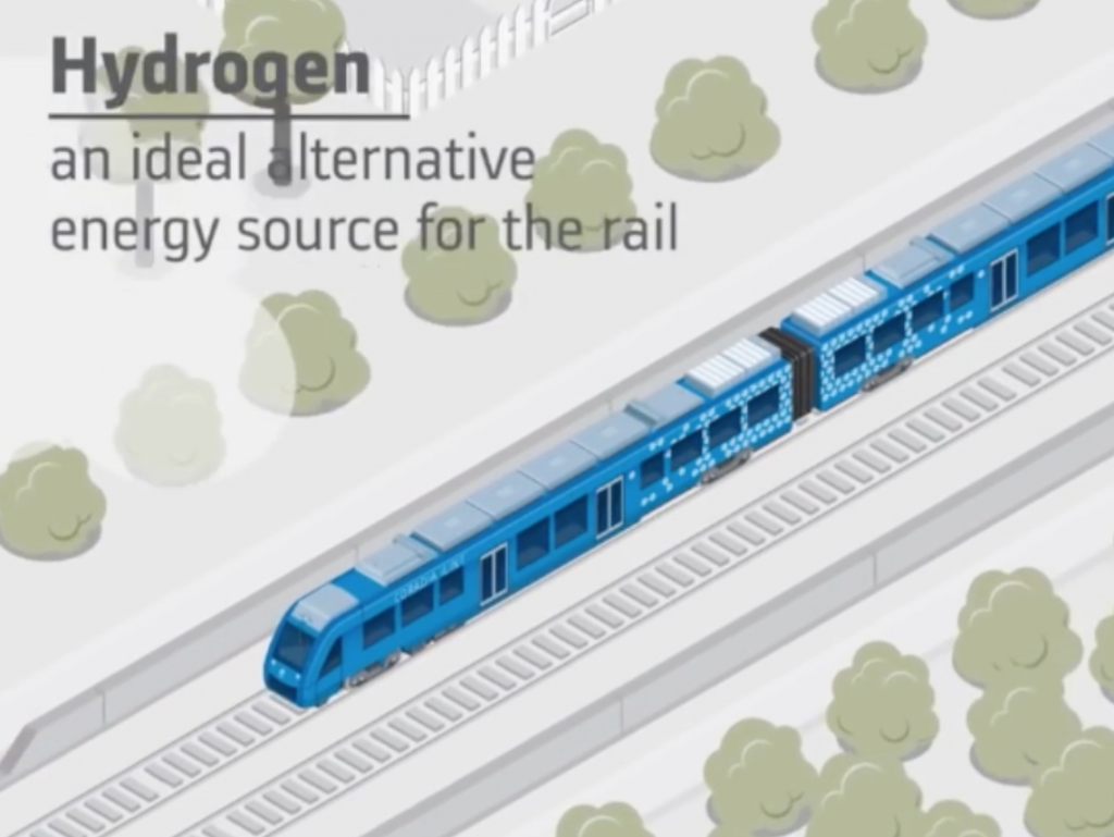 From the Web: Germany unveils zero-emissions train that only emits steam