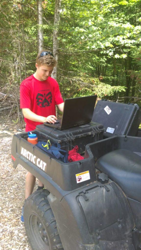 Summer Surveying with Landon