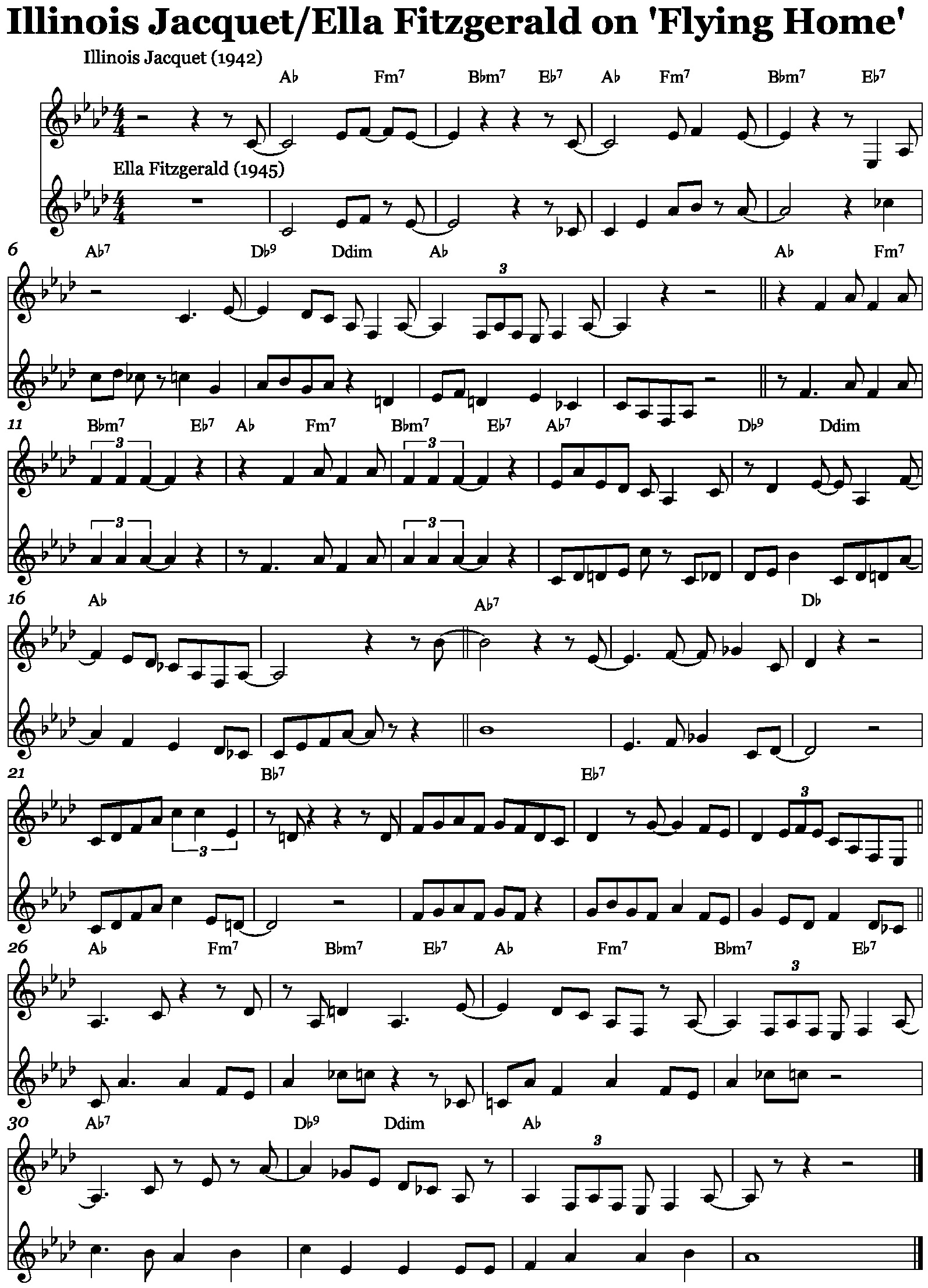 Oh, play that thing!' – the use of transcribed solos in the jazz
