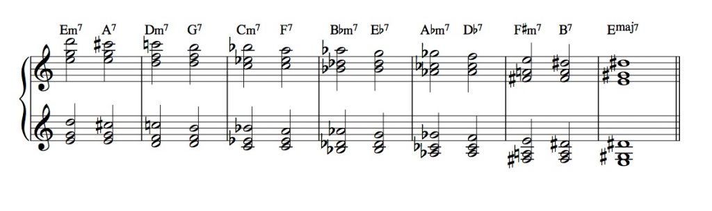three-note-rt-pos-whole-step-ii-v-doubled-voicings