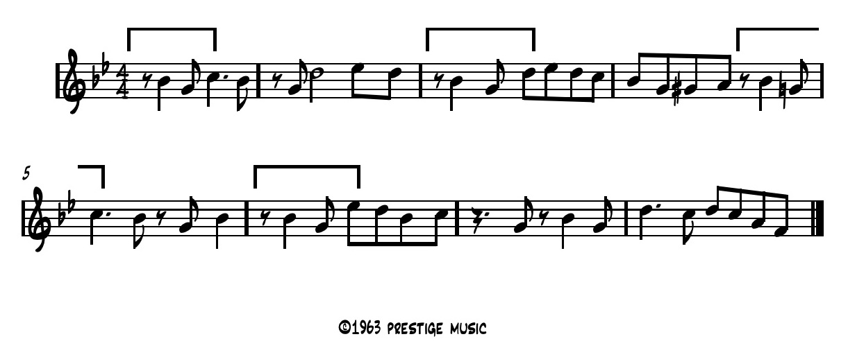 Monk Investigates This Process Further In 'straight No Chaser' Where A Rhythmic Ure Introduced Initially On The Pickup To Beat 1 Measure Is Then: Oleo Sheet Music Concert At Alzheimers-prions.com