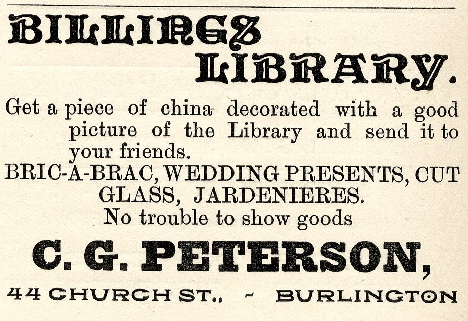 Spotlight: Billings Library Souvenir Ceramics