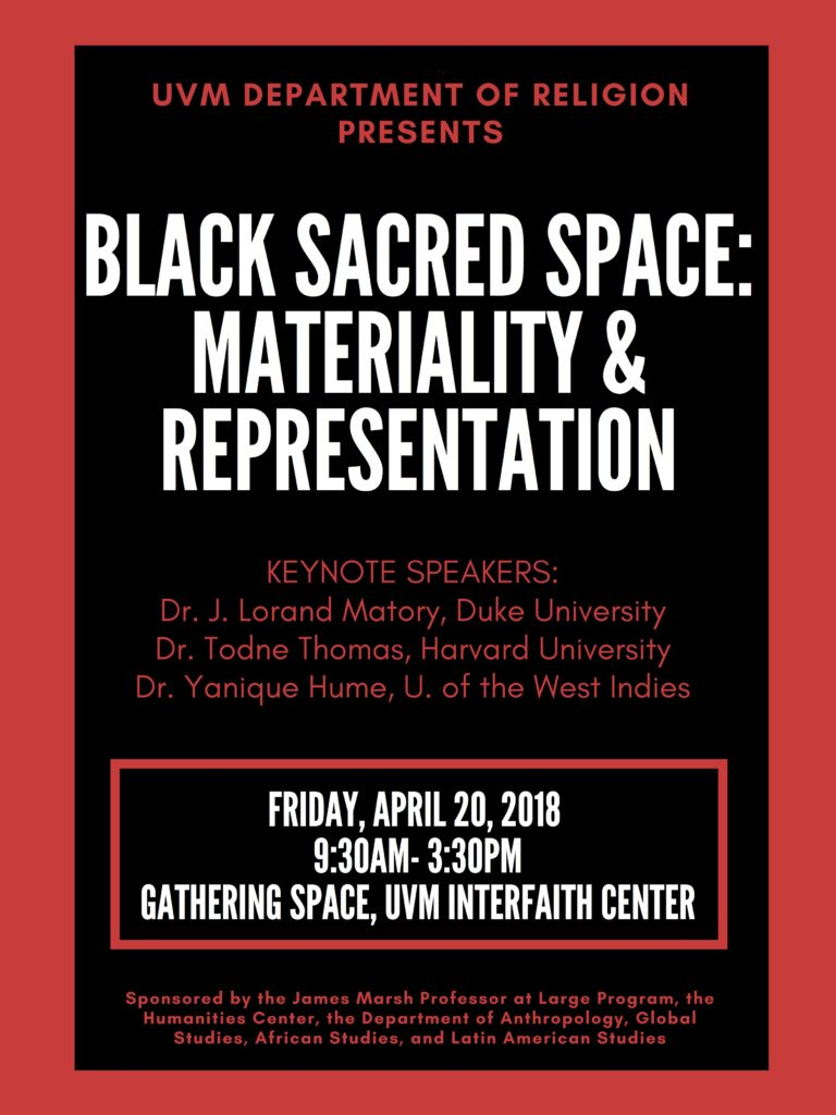 SYMPOSIUM: Black Sacred Space