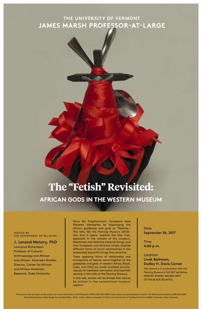 "The ""Fetish"" Revisited: African Gods in the Western Museum"