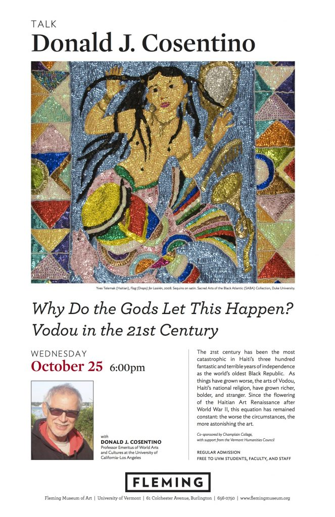 This Week! Prof. Donald J. Cosentino on Vodou in the 21st Century