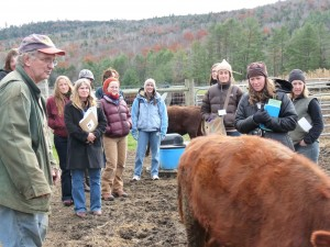 Farm tour at 2010 WISAC in Vermont.