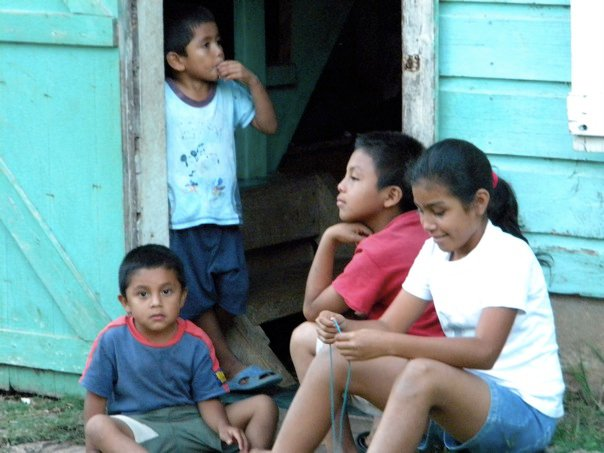 Children in Belize.