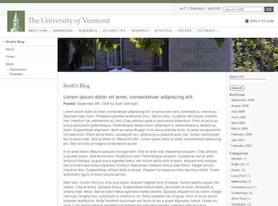 UVM 2010 Screenshot